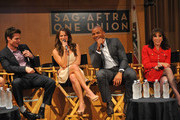 (L-R) Greg Rikaart, Melissa Claire Egan, Redaric Williams and Kate Linder participate in the 40 years of 'The Young and The Restless' celebration and panel discussion presented by SAG-AFTRA at SAG-AFTRA on June 4, 2013 in Los Angeles, California.