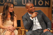 (L-R) Actors Melissa Claire Egan and Redaric Williams participate in the 40 years of 'The Young and The Restless' celebration and panel discussion presented by SAG-AFTRA at SAG-AFTRA on June 4, 2013 in Los Angeles, California.