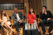 Actors Melissa Claire Egan, Redaric Williams, Kate Linder and Daniel Goddard participate in the 40 years of 'The Young and The Restless' celebration and panel discussion presented by SAG-AFTRA at SAG-AFTRA on June 4, 2013 in Los Angeles, California.