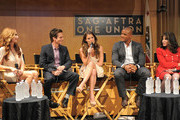 (L-R) Actors Tracey E. Bregman, Greg Rikaart, Melissa Claire Egan, Redaric Williams and Kate Linder participate in the 40 years of 'The Young and The Restless' celebration and panel discussion presented by SAG-AFTRA at SAG-AFTRA on June 4, 2013 in Los Angeles, California.