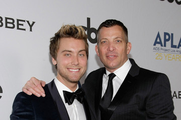 """Lance Bass David Cooley SBE And The Abbey's """"The Envelope Please"""" Oscar Party Benefitting APLA"""