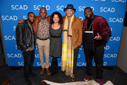 (L-R) Marcc Rose, Bokeem Woodbine, Debra Birnbaum, .Anthony Hemingway, and Wavyy Jonez attend a screening and Q&A for 'Unsolved: The Murders of Tupac and the Notorious B.I.G.' on Day 2 of the SCAD aTVfest 2018 on February 2, 2018 in Atlanta, Georgia.