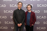 "Producer Barry Josephson (L) and actor Griffin Newman attend a press junket for ""The Tick"" on Day 2 of the SCAD aTVfest 2018 on February 2, 2018 in Atlanta, Georgia."