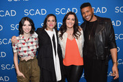 (L-R) Genevieve Buechner, Sarah Gertrude Shapiro, Stacy Rukeyser, and Jeffrey Bowyer-Chapman attend a screening and Q&A for 'UnREAL' on Day 3 of the SCAD aTVfest 2018 on February 3, 2018 in Atlanta, Georgia.