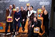 """Michael O'Neill, J. August Richards, Joan Rater, Tony Phelan, Sarah Wayne Callies, Michele Weaver and Clive Standen attend SCAD aTVfest 2020 - """"Council Of Dads"""" on February 28, 2020 in Atlanta, Georgia."""