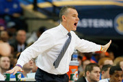 Head coach Billy Donovan of the Florida Gators yells to his team against the Missouri Tigers during the quarterfinals of the SEC Men's Basketball Tournament at Georgia Dome on March 14, 2014 in Atlanta, Georgia.