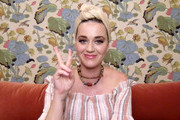 Katy Perry speaks during SHEIN Together Virtual Festival to benefit the COVID – 19 Solidarity Response Fund for WHO powered by the United Nations Foundation on May 09, 2020 in Los Angeles, California.