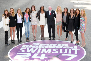 Daniella Sarahyba SI Swimsuit 24/7: Meet & Greet With Las Vegas Mayor Oscar B. Goodman