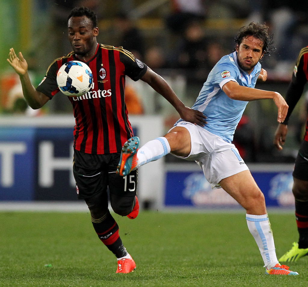 Michael Essien s s SS Lazio Match Against AC Milan
