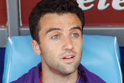 Giuseppe Rossi of Fiorentina looks on during the Serie A match between SSC Napoli and ACF Fiorentina at Stadio San Paolo on October 18, 2015 in Naples, Italy.