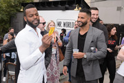 "Demore Barnes and Ricky Whittle attend the STARZ American Gods ""House of the Gods"" intimate experience at SXSW on March 9, 2019 in Austin, Texas."