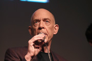 """Actor J. K. Simmons speaks onstage during the STARZ """"Counterpart"""" & """"Howards End"""" FYC Event at LACMA on May 23, 2018 in Los Angeles, California."""