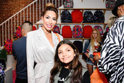 Farrah Abraham (L) and Sophia Laurent Abraham attend SYLVANIA SMART+ Presents Mashup LA on November 14, 2019 in Los Angeles, California.