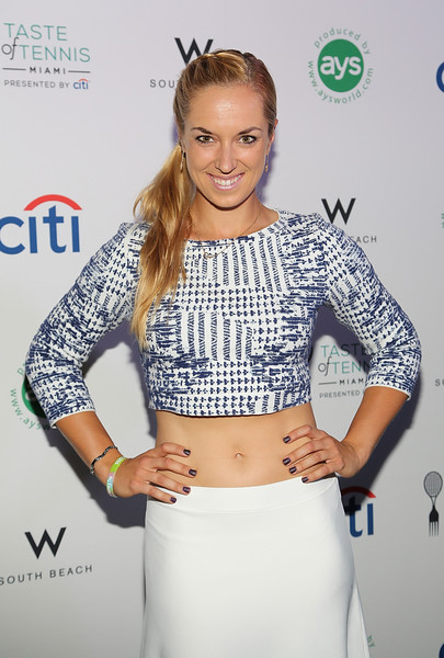 Sabine Lisicki Photos Taste Of Tennis Miami Presented By Citi At W