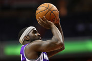 Ty Lawson #10 of the Sacramento Kings puts up a shot against the Washington Wizards at Verizon Center on November 28, 2016 in Washington, DC. NOTE TO USER: User expressly acknowledges and agrees that, by downloading and or using this photograph, User is consenting to the terms and conditions of the Getty Images License Agreement.