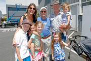 (L-R) Ruve McDonough, Dr. Peter Sommers Waldstein, and actor Neal McDonough and family attend Safe Kids Day presented by Nationwide 2015 on April 26, 2015 in West Hollywood, California.