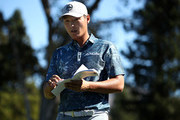 Danny Lee of New Zealand walks off the 13th hole during the final round of the Safeway Open at the North Course of the Silverado Resort and Spa on October 7, 2018 in Napa, California.