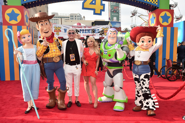 The World Premiere Of Disney And Pixar's 'TOY STORY 4' [toy story 4,fun,event,costume,vacation,performance,musical,tourism,leisure,fictional character,saffron barker,casey barker,ca,hollywood,pixar,world premiere of disney,disney,l,world premiere]