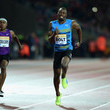 Michael Rodgers and Usain Bolt