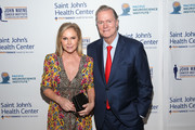 Kathy Hilton and Rick Hilton attend Saint John's Health Center Foundation's 76th Anniversary Gala Celebration at The Beverly Hilton Hotel on October 20, 2018 in Beverly Hills, California.