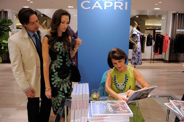"Ren Grady Saks 5th Ave Hosts Launch of Pamela Fiori's Book ""In The Spirit of Capri"""