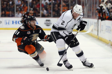 Saku Koivu Los Angeles Kings v Anaheim Ducks