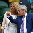 Sally Bercow Day Eleven: The Championships - Wimbledon 2016