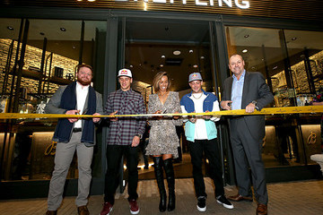 Sally Fitzgibbons Ken Roczen Breitling Boutique San Diego Grand Opening Event with Professional Surfer Sally Fitzgibbons, Motorcross Racer Ken Roczen, Breitling USA President Thierry Prissert and Westime President Greg Simonian