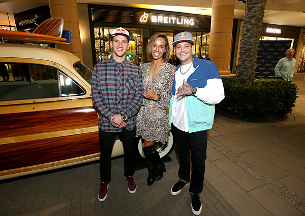 Breitling Boutique San Diego Grand Opening Event with Professional Surfer Sally Fitzgibbons, Motorcross Racer Ken Roczen, Breitling USA President Thierry Prissert and Westime President Greg Simonian
