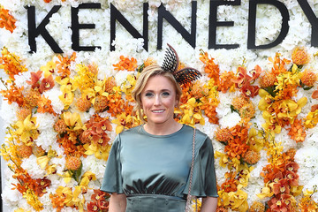 Sally Pearson Celebrities Attend Melbourne Cup Day