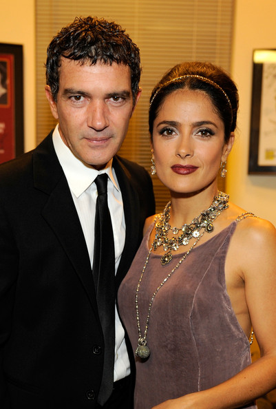 salma hayek and antonio banderas relationship