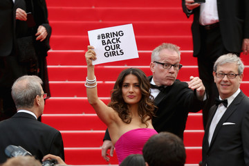 "Salma Hayek ""Saint Laurent"" Premiere - The 67th Annual Cannes Film Festival"