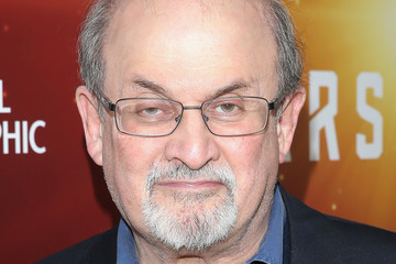 Salman Rushdie National Geographic Channel 'Mars' Premiere NYC