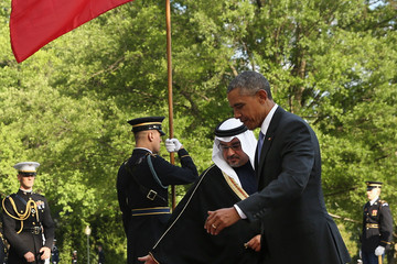 Salman bin Hamad Al-Khalifa President Obama Welcomes Leaders and Delegations From The Gulf Cooperation Council
