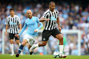 Salomon Rondon Manchester City vs. Newcastle United - Premier League