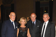 Mario Boselli, Alberta Ferretti and her husband and Beppe Modenese  attend  Salvador Dali Opening Exhibition during Milan Fashion Week Womenswear S/S 2011 on September 22, 2010 in Milan, Italy.