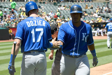 Salvador Perez Kansas City Royals vs. Oakland Athletics