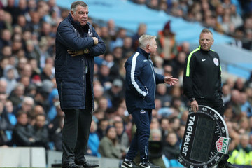 Sam Allardyce Manchester City v Crystal Palace - Premier League