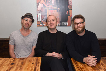 Sam Catlin AMC's 'PREACHER' Activation and Autograph Signing at SXSW With Seth Rogen, Garth Ennis, and Sam Catlin