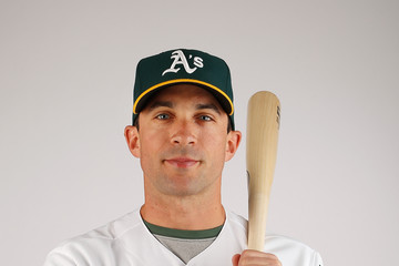 Sam Fuld Oakland Athletics Photo Day