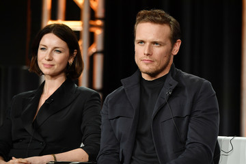 Sam Heughan 2020 Winter TCA Tour - Day 8