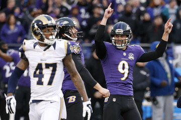 Sam Koch St Louis Rams v Baltimore Ravens