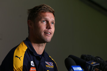 Sam Mitchell West Coast Eagles Training Session