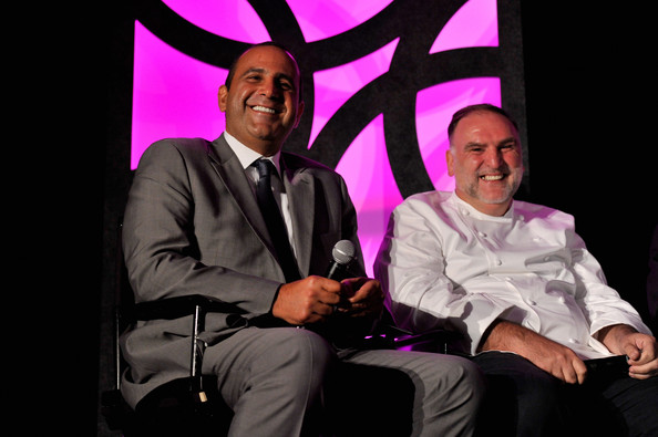 Visionary Partners Performance [jose andres,sam nazarian,lenny kravitz,visionary partners,philippe starck,founder,culinary director,chief executive officer,chairman,event,performance,sls las vegas]