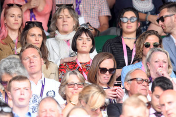 Sam Rollinson The evian Live Young Suite On The Opening Day Of The Championships At Wimbledon 2017