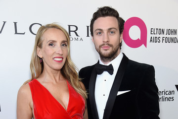 Sam Taylor-Johnson 26th Annual Elton John AIDS Foundation Academy Awards Viewing Party sponsored by Bulgari, celebrating EJAF and the 90th Academy Awards - Red Carpet