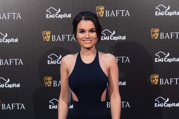 Samantha Barks EE British Academy Film Awards Gala Dinner - Arrivals