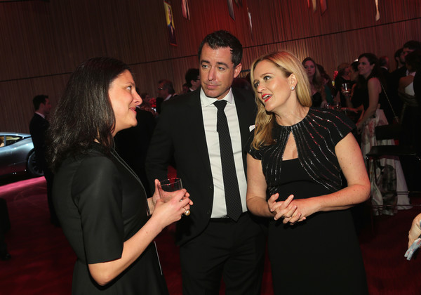 2017 Time 100 Gala - Cocktails [event,red,fashion,formal wear,suit,flooring,night,party,jason jones,samantha bee,time 100,cocktails,jazz,new york city,lincoln center,l]