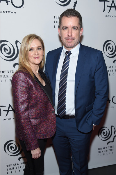 2019 New York Film Critics Circle Awards [suit,event,premiere,white-collar worker,carpet,smile,samantha bee,jason jones,new york city,tao downtown,new york film critics circle awards,jason jones,samantha bee,2019 new york film critics circle awards,celebrity,actor,photography,film criticism,photograph]
