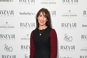 Samantha Cameron Bazaar at Work Summit Photocall